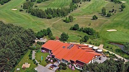 Bild Luftbildaufnahme des Clubhaus