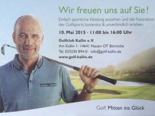 Bild Golf-Erlebnistag 2015 im GC Kallin