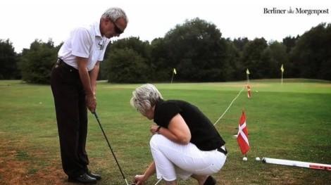 Bild Blind auf dem Golfplatz