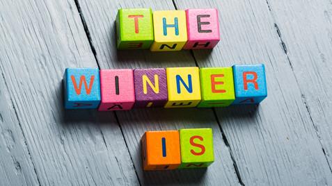 """Bild """"the winner is"""""""
