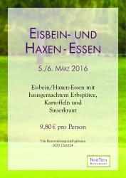Bild Eisbein- und Haxenessen