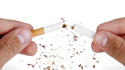 Bild Zerbrochene Zigarette