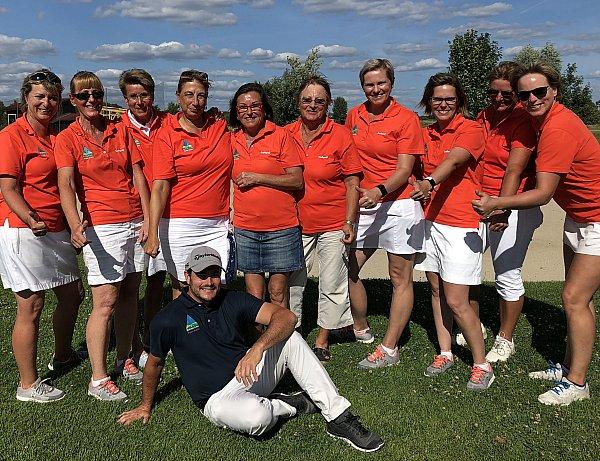 Bild Damenmannschaft 2018