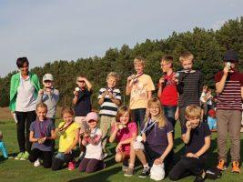 Bild Teilnehmer der Mini-Clubmeisterschaft 2018